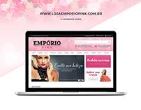 E-commerce Empório Pink [Iluria]