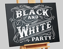 Western Party Invitation Design