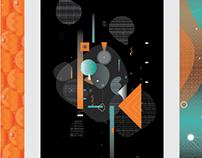 Sonoridades Visuales - Digital Illustration - Cosmos