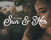 FREE Sun & Her Font