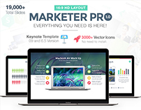 Marketer Pro Keynote Presentation Template