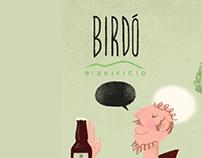 San Daniele label for Birdò Brewery