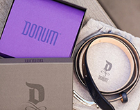DONUM Shoes Branding, Packaging & Website