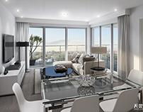 3D renderings--Residential interior shots