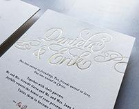 Invitación Daniela & Erik