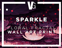 SPARKLE - Floral Fractal