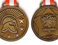 Spartans Medals