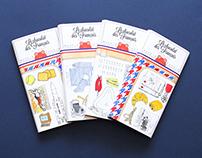 """Illustrations pour """"Le Chocolat des français"""""""