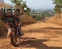 Le tour du Bénin à moto