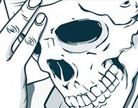 Smoking kills - Skull