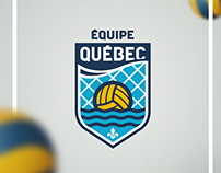 Branding - Team Quebec water polo
