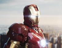 Iron Man Mark III 3DS MAX