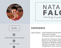 Natalie's Resume