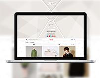 Gift website design