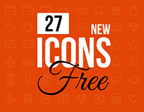 27 Free Charming Multipurpose Icons for Design Projects