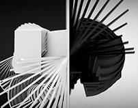 BLACK & WHITE LOGOCUBE