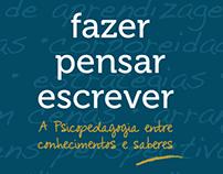 Capa de livro - A psicopedagogia entre conhecimentos...