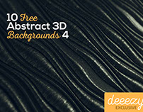 10 FREE Abstract 3D Backgrounds 4