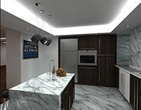 Modern Kitchen for G-Design in Kafr abdo