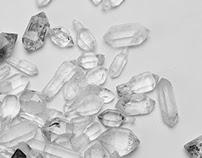 bergkristall ohrringe