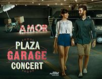 Plaza Garage Concert -Ação Promocional Hand Lettering
