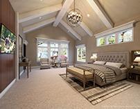 CAMEO HOUSE Master Bedroom CGI