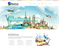 Dazzle Travel & Tours ~ Webfolio