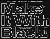 Suprapower Typeface
