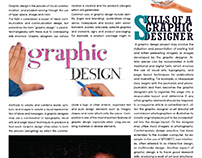 graphic design news letter