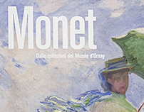 Monet - Exhibition design