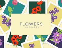 Flores Ilustraciones - Flowers illustrations - Botanic