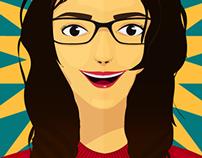 Self Portrait Vector