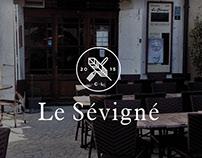 Identité restaurant Sévigné