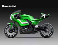 KAWASAKI Z900 RSR ENDURANCE CONCEPT