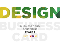 Business card portfolio #Pack 1
