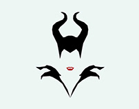 Faceless Disney Villains