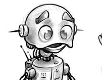 C.R. The robot