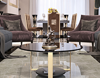 LUXURY DESIGN Guest lounge