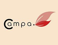 "logo and packaging Rebranding for ""Campa"""