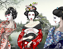 Digital: Geishas