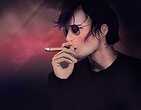 Smokey Man | Digital Art