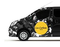 Bistro La Cohue / Habillage d'une voiture