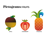 Pictograms / fruits