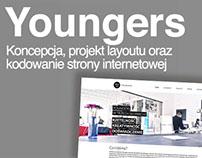Strona internetowa agencji // Youngers