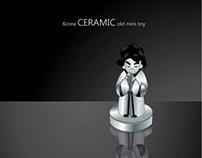 Seramic toy