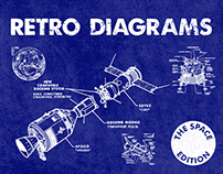 Retro Diagrams - The Space Edition