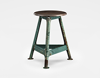 Sale: Scandinavian Workshop Stool