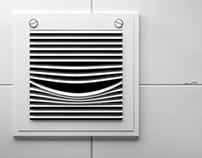 Creative print for air freshener