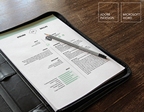 Creative Market Resume Template | One Page