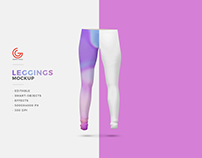 Free Leggings Mockup